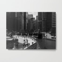 Chicago-Scape Metal Print