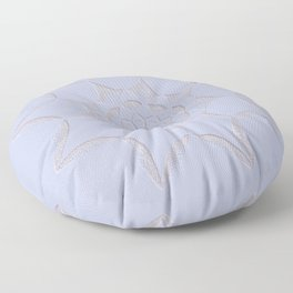 Dot Mandala Light Purple - 3D Pointilism Floor Pillow