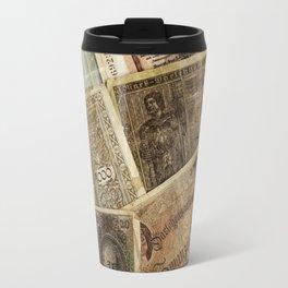 Old German money Travel Mug