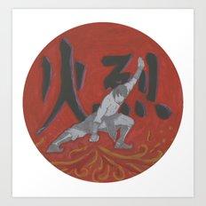 Firebender, Avatar: TLA Art Print