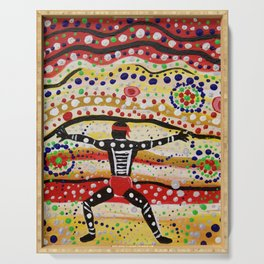 """The People of Uluru"" Serving Tray"