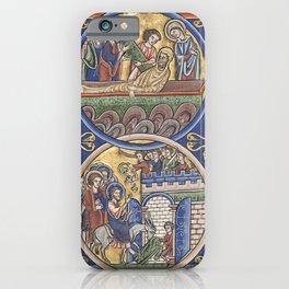 Raising of Lazarus - The Triumphal Entry of Jesus into Jerusalem iPhone Case
