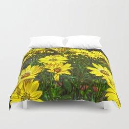 daisys flowers Duvet Cover