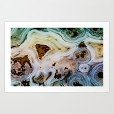 THE BEAUTY OF MINERALS Art Print