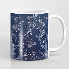Chalk Florals Coffee Mug