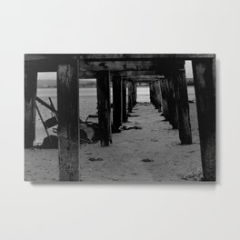 Fire was your element. But the ocean claimed you, and now you are hers. Metal Print