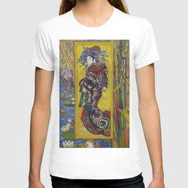 "Vincent van Gogh, "" Courtesan- after Eisen "" T-shirt"