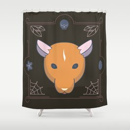Every April 4th is World Rat Day Shower Curtain