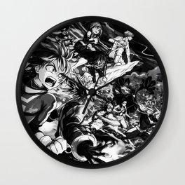 My Hero Academia   Izuku Midoriya   Deku Black White Wall Clock