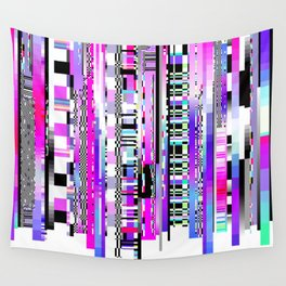 Glitch Ver.3 Wall Tapestry