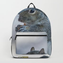 Winter squirrel Backpack