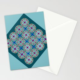 Prelude to Metatron (Turquoise) Stationery Cards