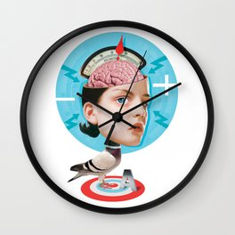 Bird Brain Wall Clock