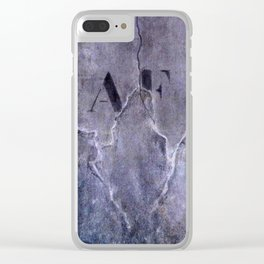 no fly posting Clear iPhone Case