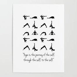 YOGA QUOTES Poster