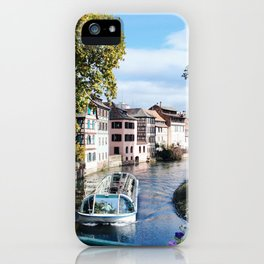 Strasbourg River View iPhone Case