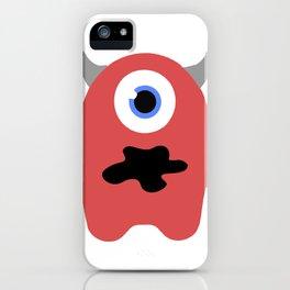 Cute Little Monster iPhone Case