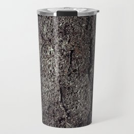 Cracked asphalt road Travel Mug