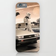 2 Stormtrooopers in a Hover DeLorean  Slim Case iPhone 6s