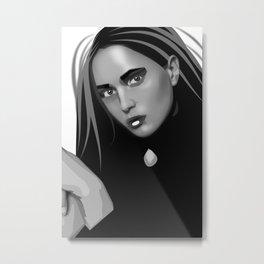 Greta Metal Print