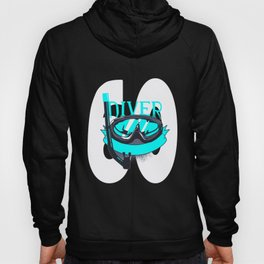 Scuba Diving 60th Birthday Diver 60 Years Gift Hoody