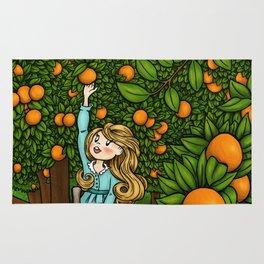 Orange Afternoon Rug