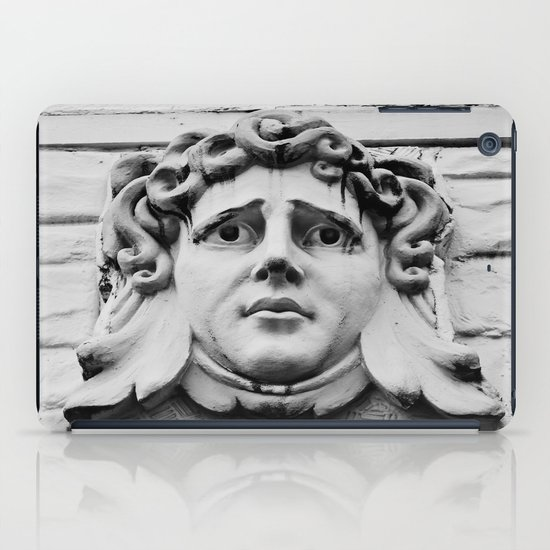 Face of stone iPad Case
