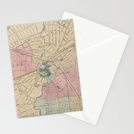 Vintage Map of Elizabeth New Jersey (1872) Stationery Cards