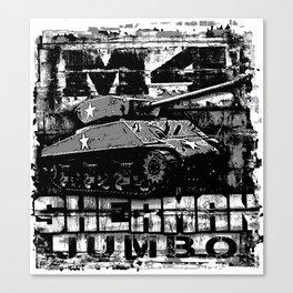 M4A3E2 Sherman Jumbo Canvas Print