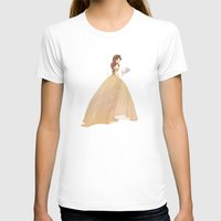belle T-shirts featuring Belle by lolia
