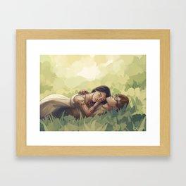 Sizzy Framed Art Print