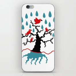 Birds in the trees iPhone Skin