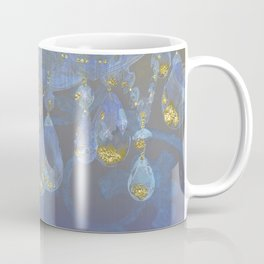 Fantasy Chandelier Champagne Ballroom Coffee Mug