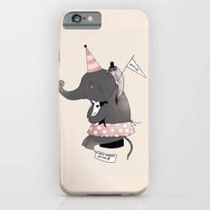 Circus is not funny for animals Slim Case iPhone 6s
