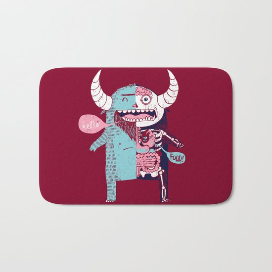 All Monsters are the Same Bath Mat