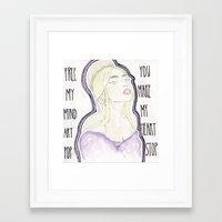 artpop Framed Art Prints featuring ARTPOP by Christopher DeSapio