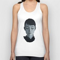 audrey Tank Tops featuring Audrey by yurishwedoff