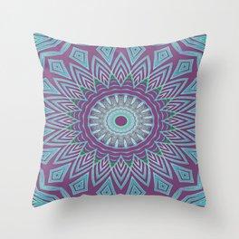 Gypsy Flower Throw Pillow
