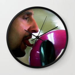 "John Turturro as Jesus Quintana in the film ""The Big Lebowski"" (Joel and Ethan Coen - 1998) Wall Clock"
