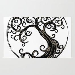 Circle Tree Rug