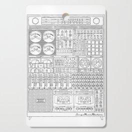 Music Machine Cutting Board
