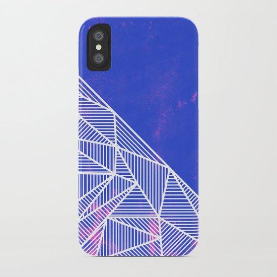 B Rays Geo Punk iPhone Case