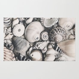 Sea Shell Collection Vintage Style Rug
