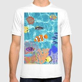 Tropical Fish Coral Reef T-shirt