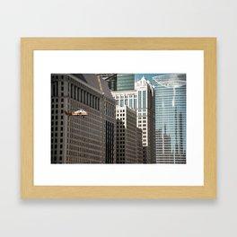 Film-shoot in Chicago Framed Art Print