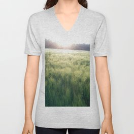 Heartland Sunset Unisex V-Neck