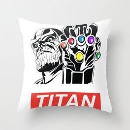 Obey Titan Throw Pillow