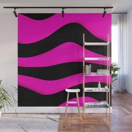Hot Wavy A Wall Mural