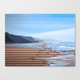 Jalama Beach Landscape Canvas Print