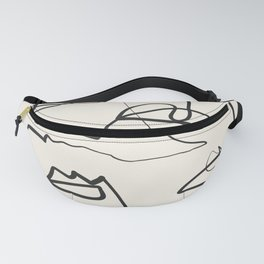 Abstract line art 12 Fanny Pack